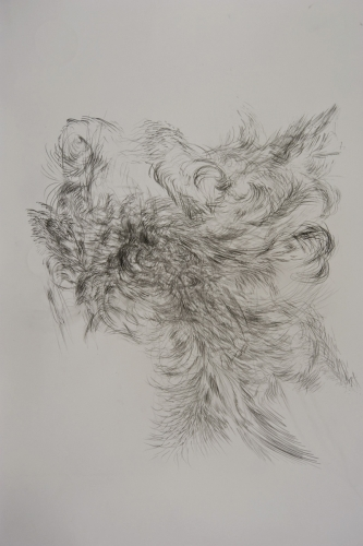 Drawing Conversation with Jon Barraclough and Mike Carney, Drawing Paper 1